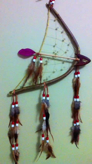 Bow-and-arrow-dreamcatcher