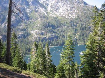 Emerald Bay, Lake Tahoe taken by Sue Ellam