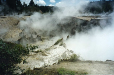 Craters of the Moon, Taupo, New Zealand taken by Sue Ellam